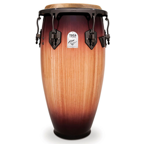"Toca Signature Series 12-1/2"" Eric Velez Wooden Tumba in Sunburst"