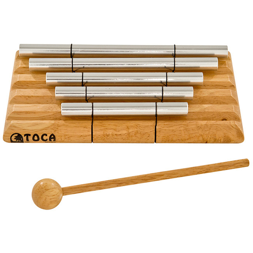 Toca 5-Note Tone Bars with Mallet Hand Percussion Sound Effect
