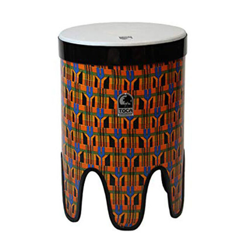 "Toca Freestyle 2 Series 16"" Nesting Tom Tom in Kente Cloth"