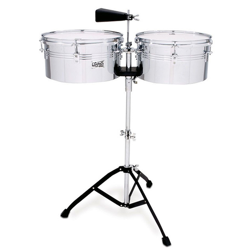 "Toca Players Series Timbale Set 13 & 14"" in Chrome"